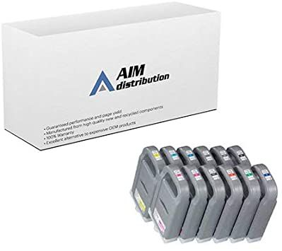 AIM Compatible Replacement Canon imagePROGRAF iPF8400/9400 Wide Format Inkjet Combo Pack
