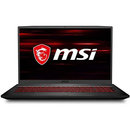 """MSI GF75 Thin Gaming Laptop, 17.3"""" FHD 120Hz IPS Screen,Intel Core i5-10300H Processor Up to 4.50 GHz"""